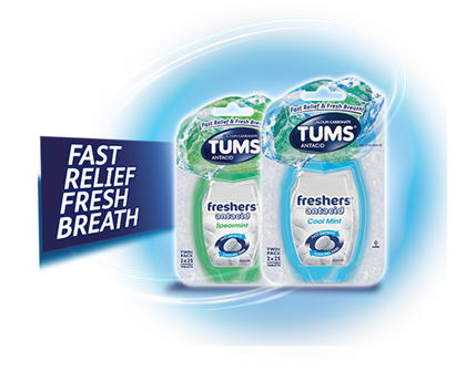 Cool Mint TUMS Freshers
