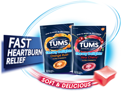 TUMS Chewy Delights