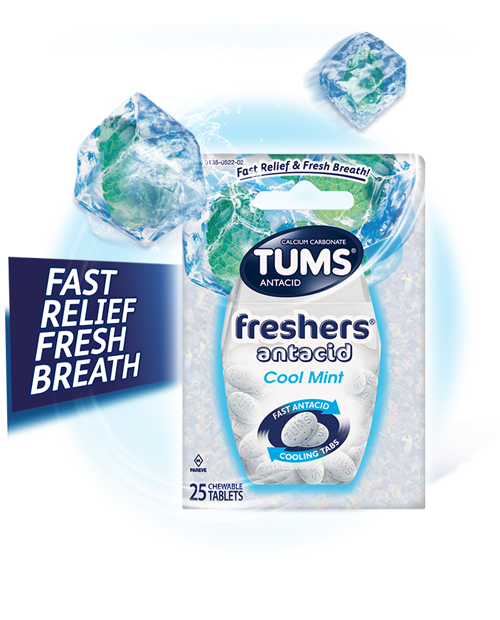 TUMS Cool Mint Freshers