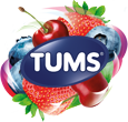 TUMS Berry Fusion Logo