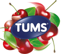 TUMS Very Cherry Logo