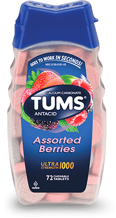 TUMS Assorted Berries Flavor